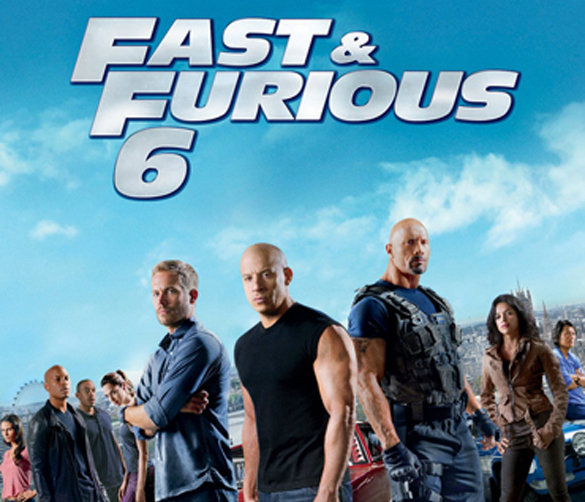 Fast & Furious 6 Square