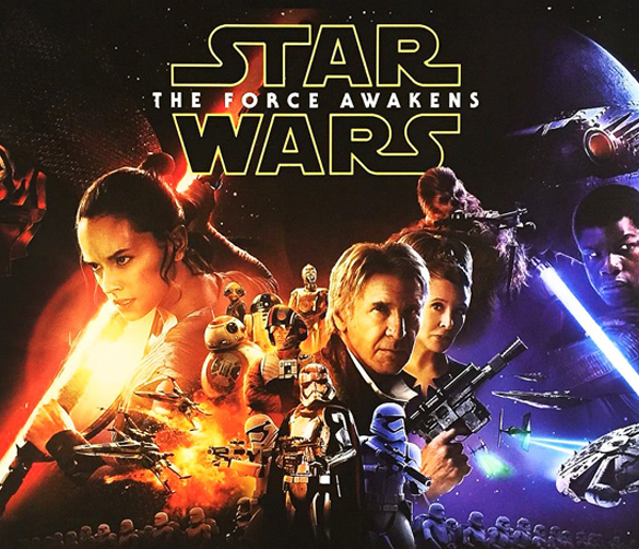 Star Wars The Force Awakens Square